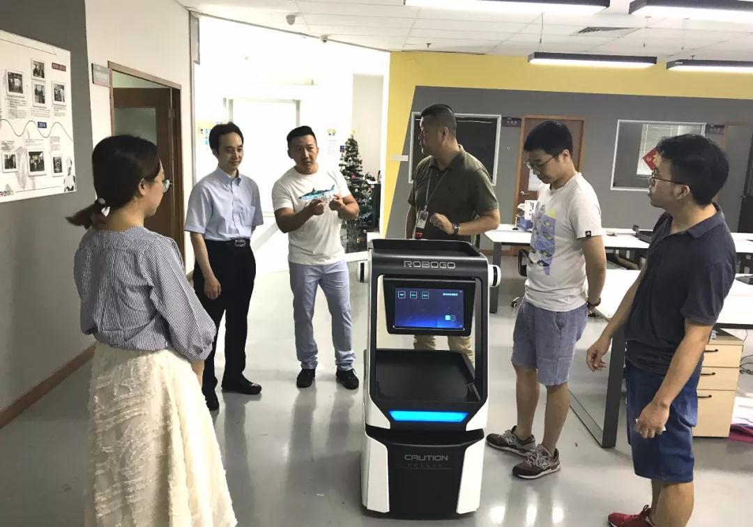 深圳大学附属总医院院长杨云生教授莅临ROBO医疗参观交流