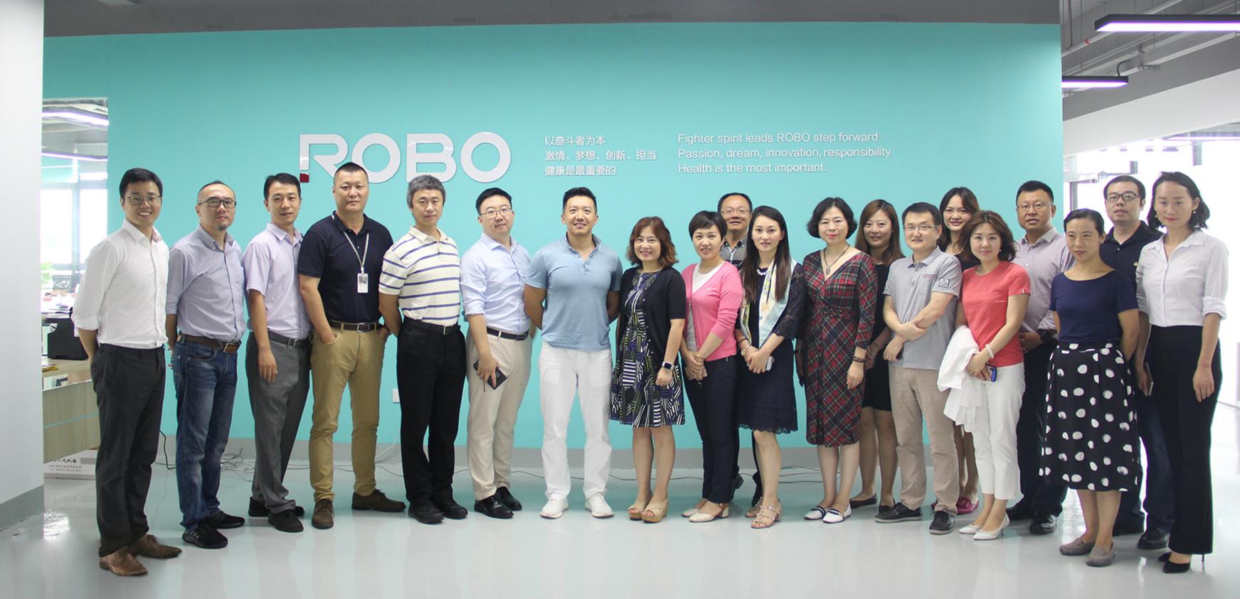 阿斯利康消化及全产品拓展事业部到访ROBO医疗考察交流