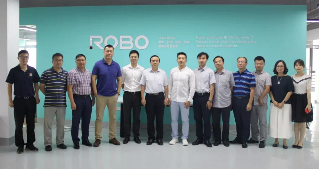 南京医科大学李校长带队考察ROBO医疗